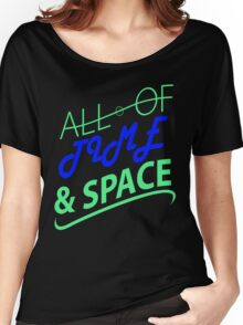All Of Time & Space Women's Relaxed Fit T-Shirt