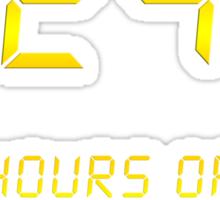 24 Hours of Sleep Deprivation Sticker
