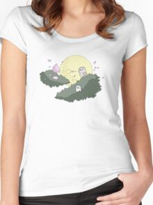 Night Owls Women's Fitted Scoop T-Shirt