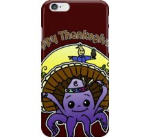 Thanksgiving - Lil Inky - Moo and Friends iPhone Case/Skin