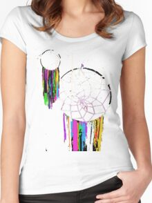 Abstract Dreamcatchers Women's Fitted Scoop T-Shirt