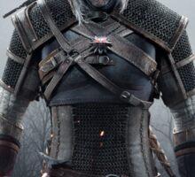 Wolf Medallion - Geralt of Rivia - Two Swords Sticker