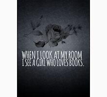 Girl Who Loves Books Unisex T-Shirt