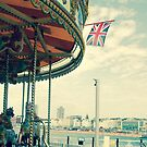 Brighton Pier Carousel by greenjewels77