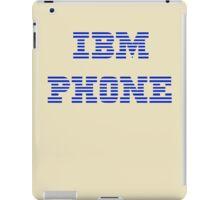 IBM Phone Vintage iPad Case/Skin
