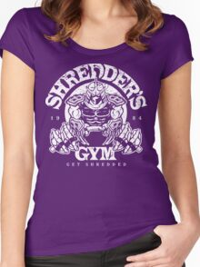 Shredder's Gym Women's Fitted Scoop T-Shirt