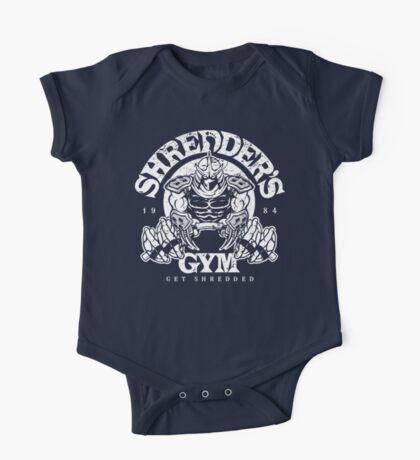 Shredder's Gym One Piece - Short Sleeve