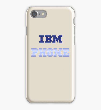 IBM Phone Vintage iPhone Case/Skin