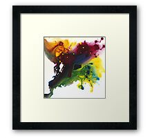 Fluid Motion Framed Print