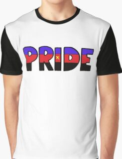 Polyamorous Pride Flag Graphic T-Shirt