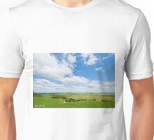 Wheatfield in the Palouse Unisex T-Shirt