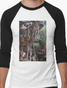 Rock Figs at Mount Borradaile Men's Baseball ¾ T-Shirt