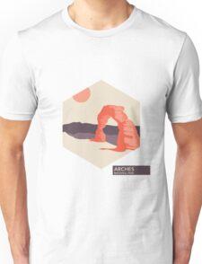 Arches National Park Travel Art Unisex T-Shirt