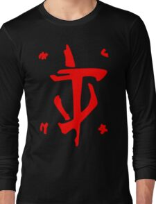 Mark of the Doom Slayer - Red Long Sleeve T-Shirt