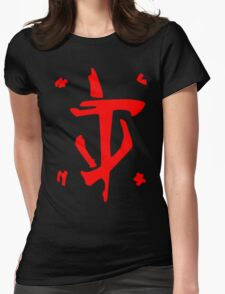 Mark of the Doom Slayer Womens Fitted T-Shirt