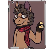 anthro pony iPad Case/Skin