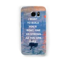 IWTWYAS Lyrics x Claude Monet Samsung Galaxy Case/Skin