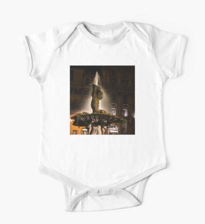 Rome's Fabulous Fountains - Bernini's Triton Fountain One Piece - Short Sleeve
