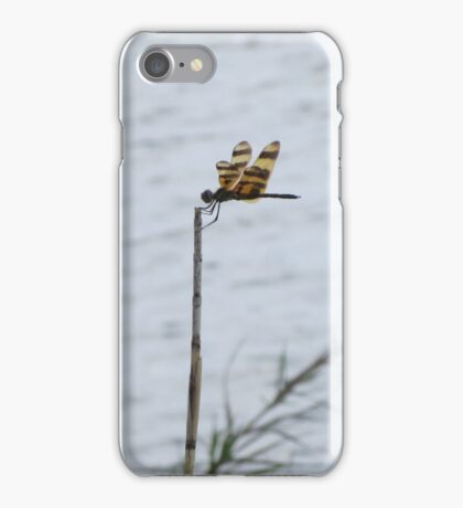 Dragonfly on the Lake iPhone Case/Skin