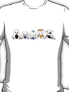 Sack Version - Moo and Friends T-Shirt