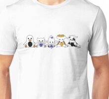 Sack Version - Moo and Friends Unisex T-Shirt