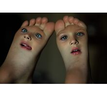 Baby Feet Photographic Print