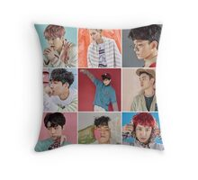 EXO lucky one poster Throw Pillow