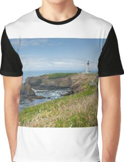 Yaquina Head Lighthouse Graphic T-Shirt