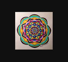 Colorful Mandala Pencil Drawing Unisex T-Shirt