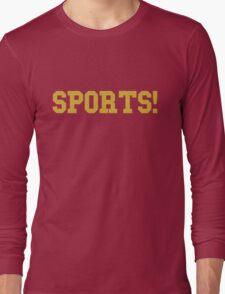 Sports - version 3 - gold Long Sleeve T-Shirt