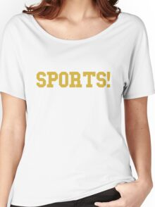Sports - version 3 - gold Women's Relaxed Fit T-Shirt