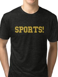 Sports - version 3 - gold Tri-blend T-Shirt