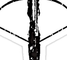 Daryl Dixon Crossbow (black) Sticker