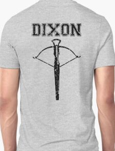 Daryl Dixon Crossbow (black) Unisex T-Shirt