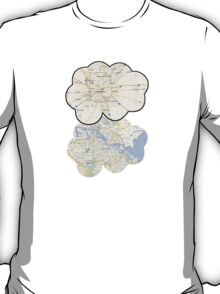 The Fault In Our Stars Maps T-Shirt