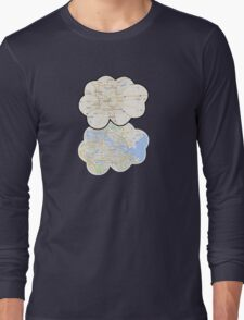 The Fault In Our Stars Maps Long Sleeve T-Shirt