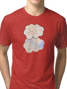 The Fault In Our Stars Maps Tri-blend T-Shirt