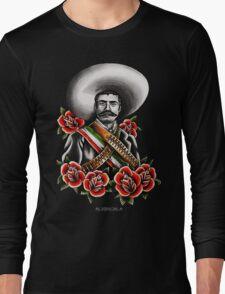 Emiliano Zapata Portrait Long Sleeve T-Shirt