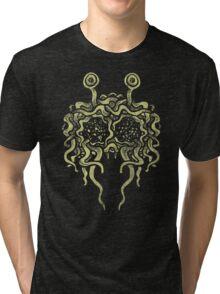 Flying Spaghetti Monster (pasta) Tri-blend T-Shirt