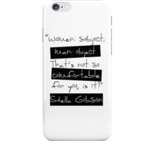 Women: Subject iPhone Case/Skin
