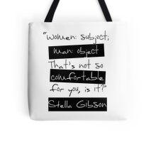 Women: Subject Tote Bag