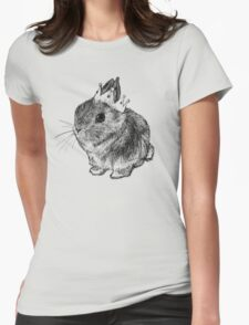 Bunny Queen Womens Fitted T-Shirt