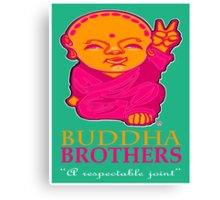 BUDDHA BROTHERS (DESIGN UNO) Canvas Print