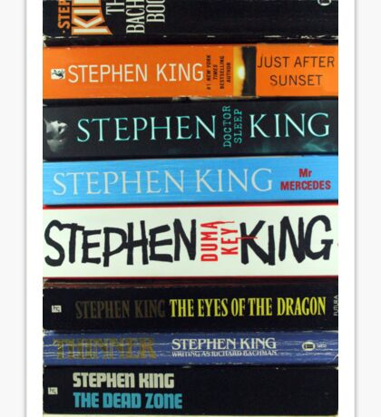 Stephen King PB1 Sticker