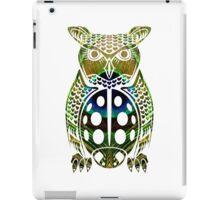 Owl, Peacock, Ladybug Mashup iPad Case/Skin