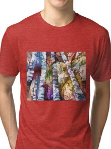 White Trees Tri-blend T-Shirt