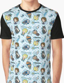 Final Fantasy X Chibi Graphic T-Shirt