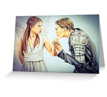 Romeo and Juliet Drawing Greeting Card
