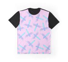 Magical Girl Sword Graphic T-Shirt