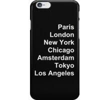 Cities  iPhone Case/Skin
